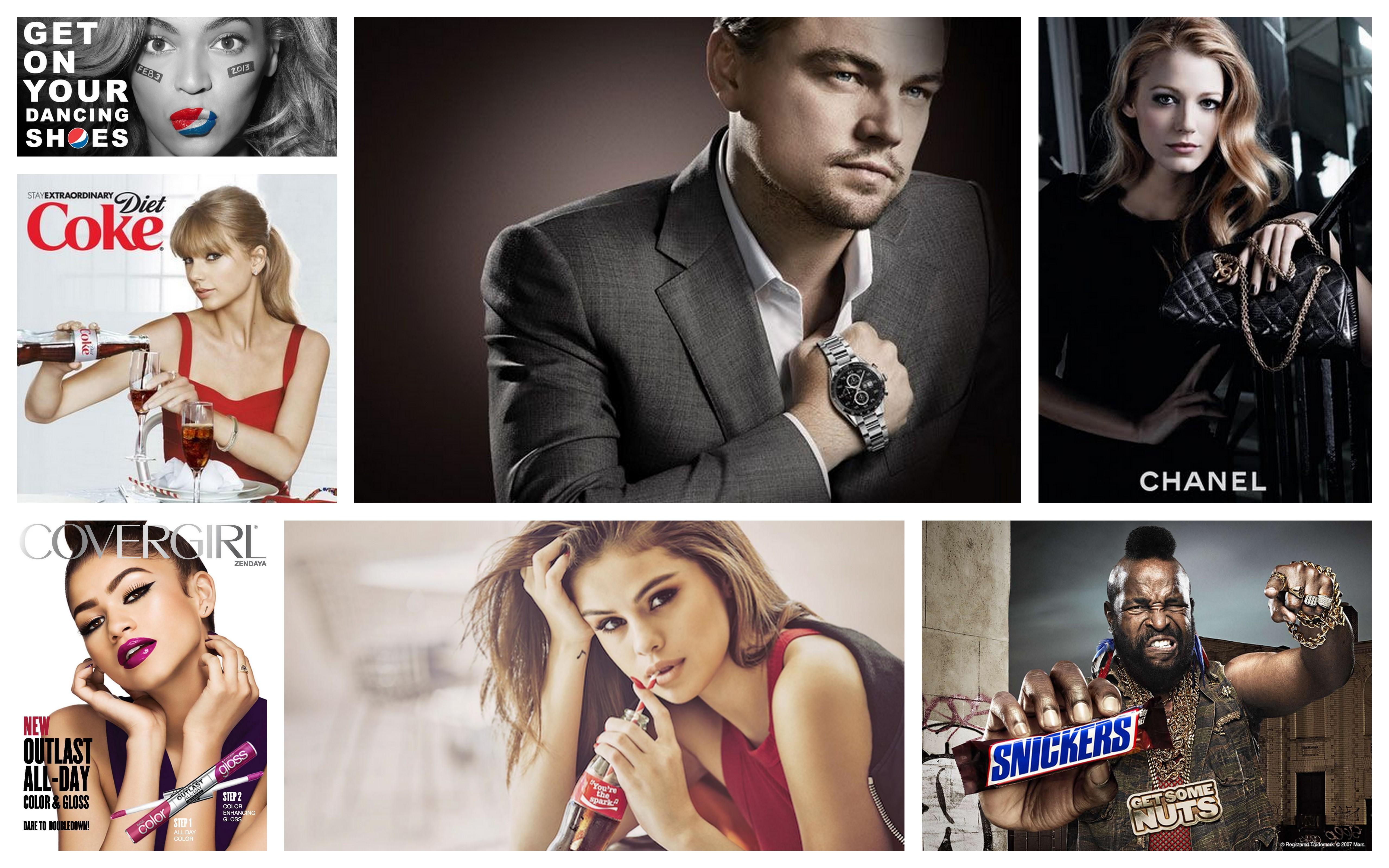 top celebrity endorsement deals